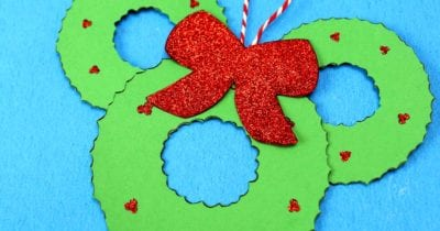 feature disney wreath mickey head craft