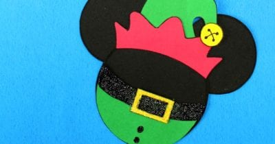 feature elf mickey head craft