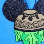Maui Ornament Craft from Disney's Moana