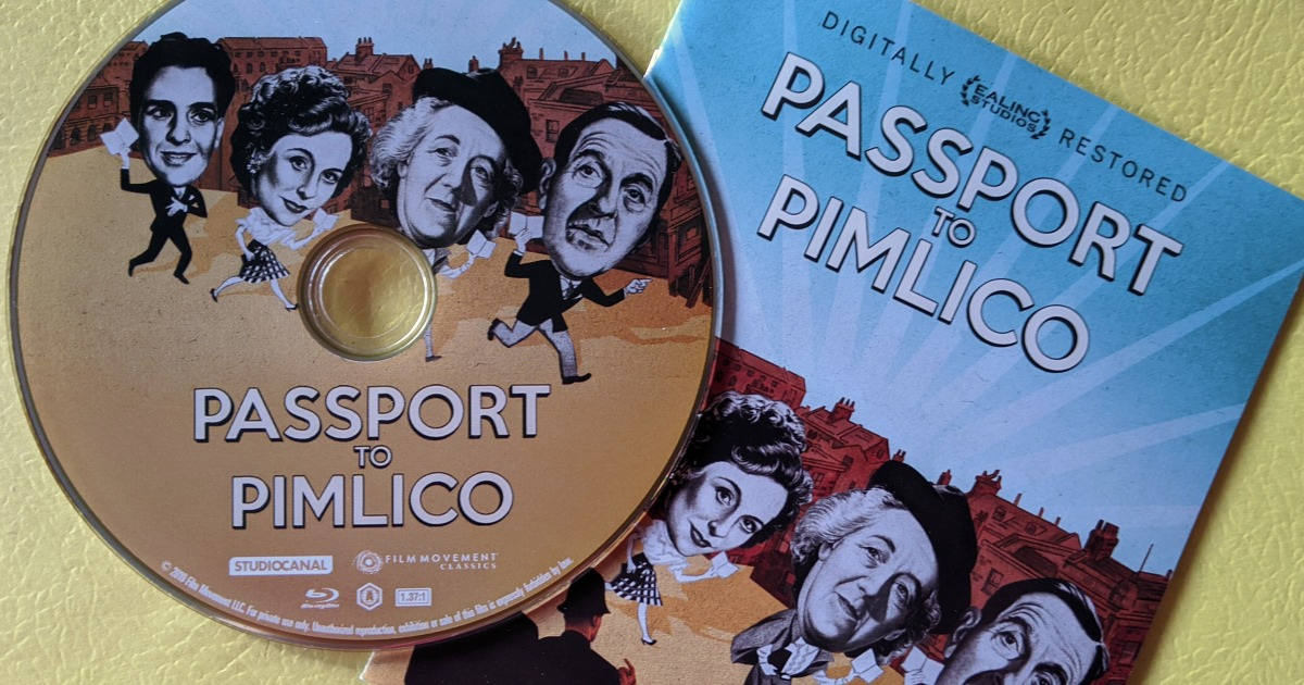 blu-ray disc passport to pimlico