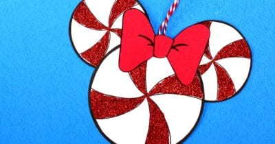 feature peppermint mickey head craft