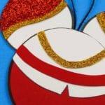 Cinderella's Prince Charming Ornament Craft