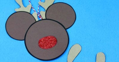 feature reindeer mickey craft