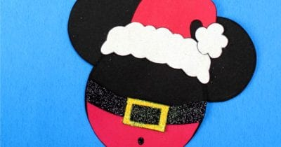 feature santa mickey head craft