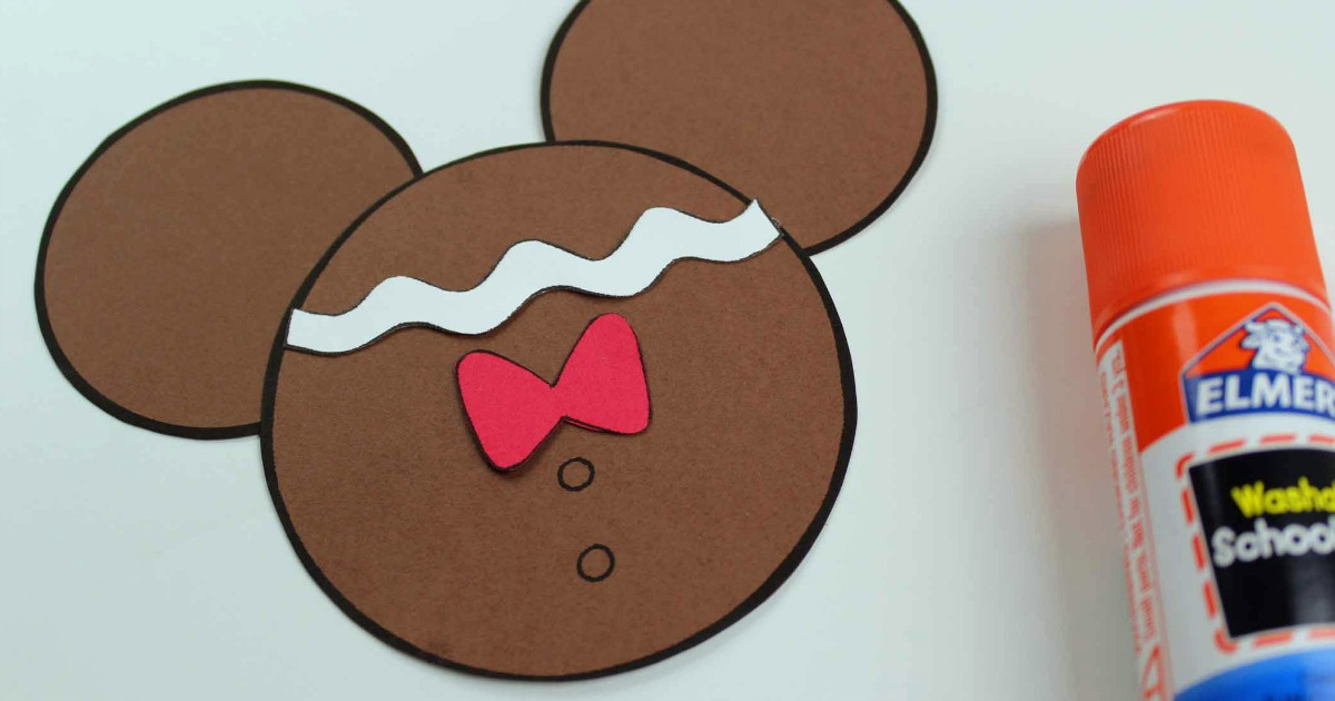 mickey gingerbread assembly