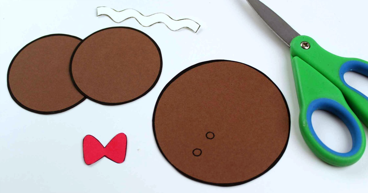 mickey gingerbread man supplies
