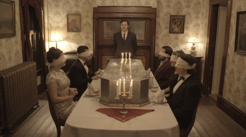 movie scene from feast of man