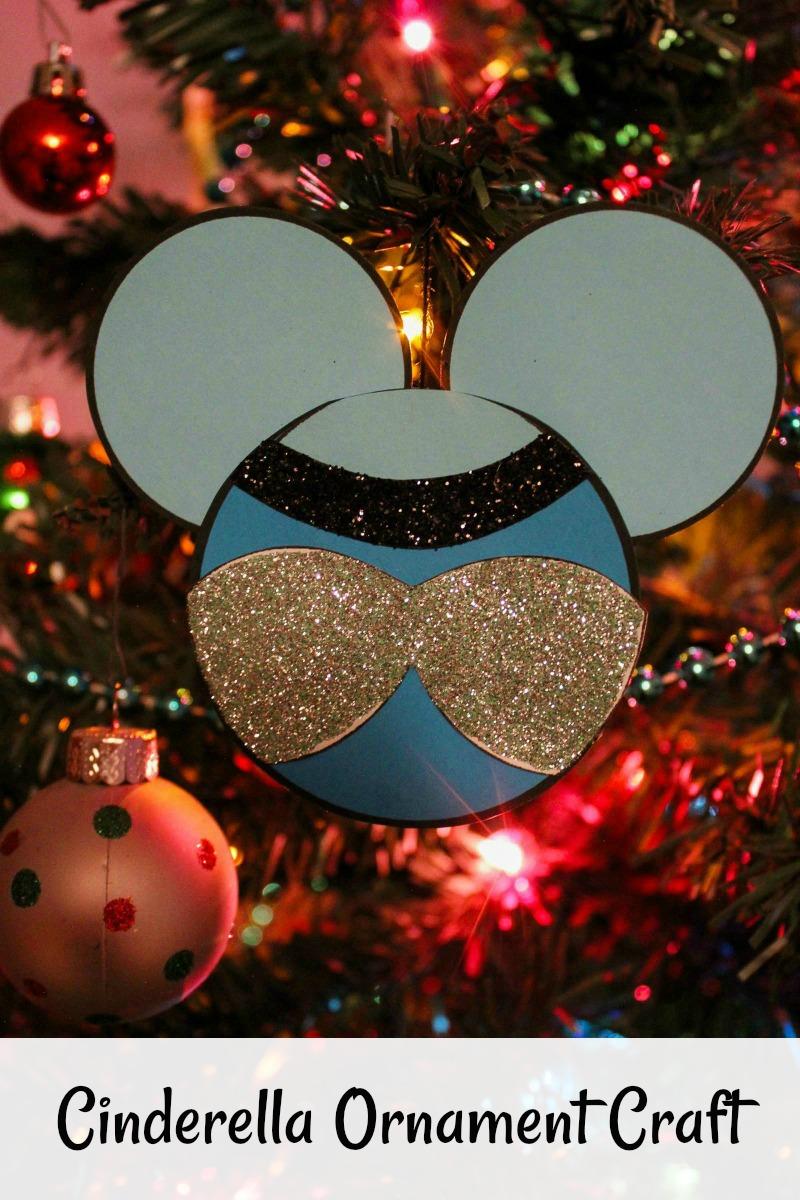 pin cinderella ornament craft on tree