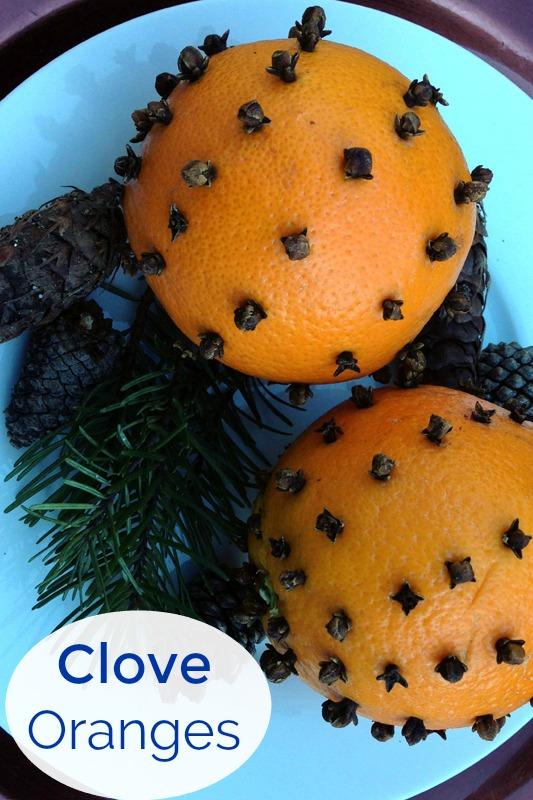Festive Clove Studded Oranges