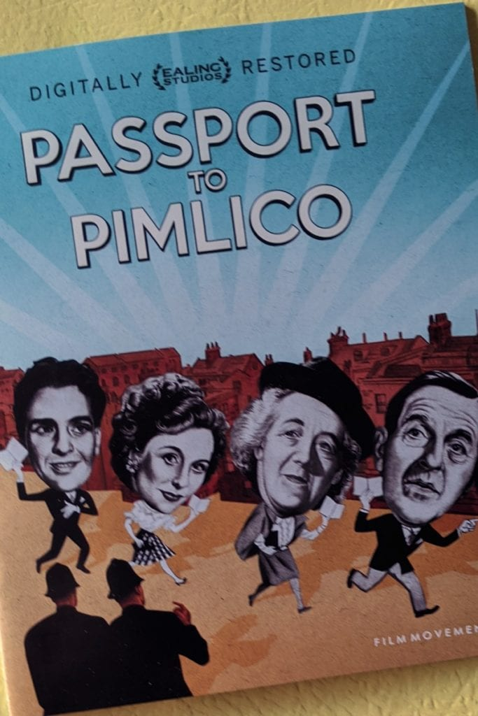 pin passport to pimlico restored