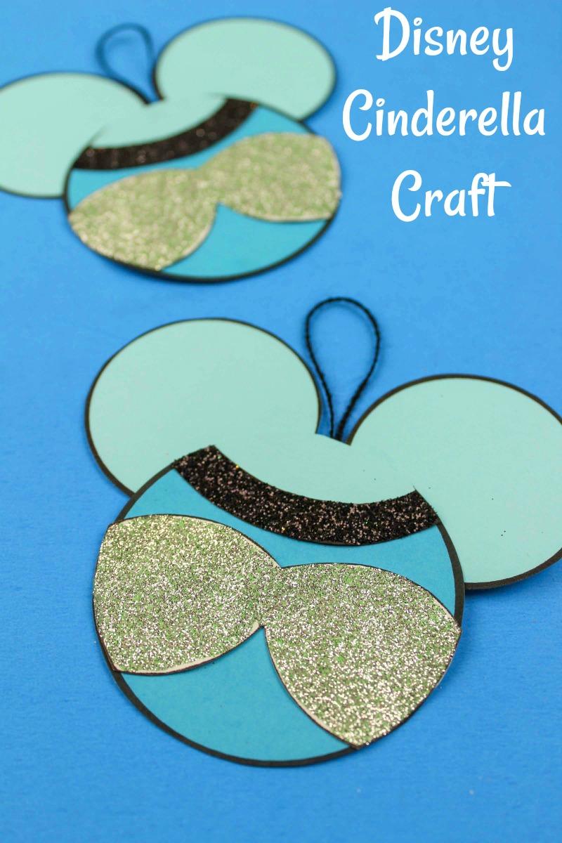 pin printable cinderella ornament craft