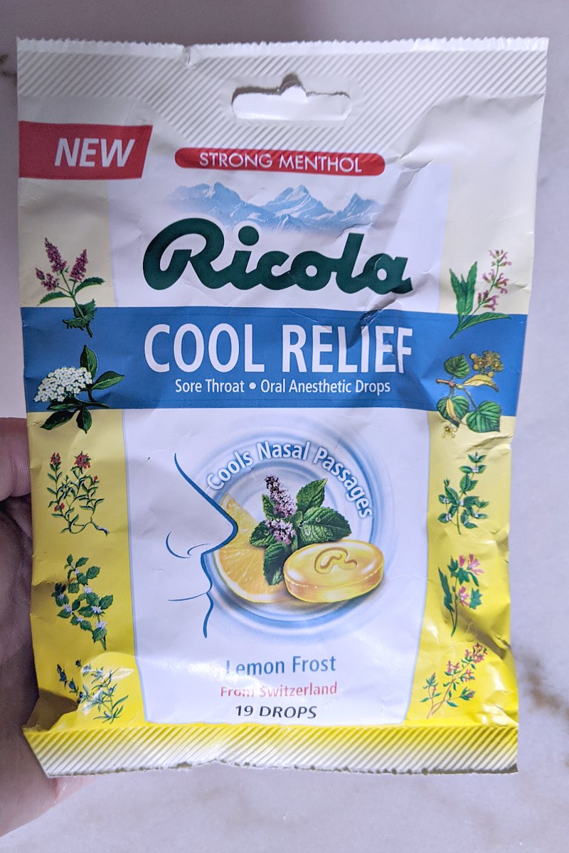 Introducing Ricola Cool Relief Lemon Frost Drops