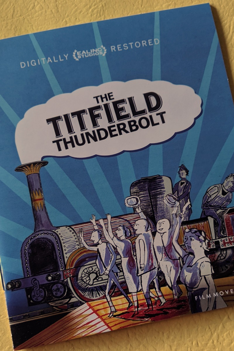 The Titfield Thunderbolt now on Blu-ray