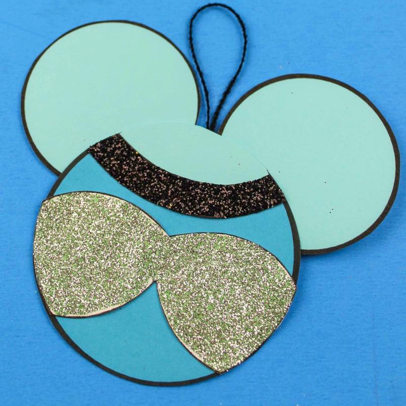 printable cinderella ornament craft
