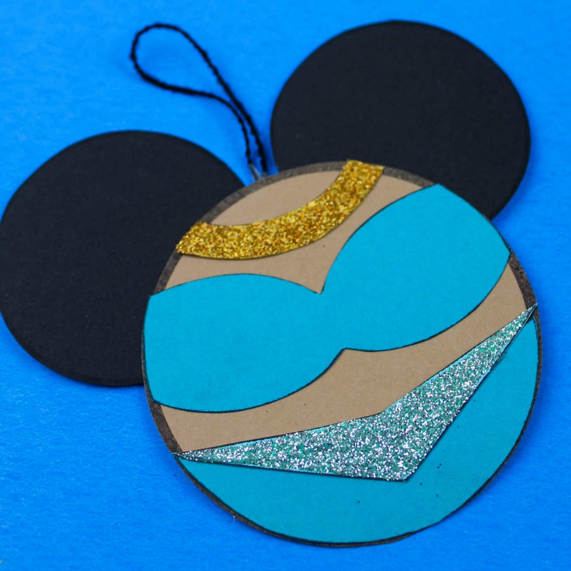 printable princess jasmine ornament craft