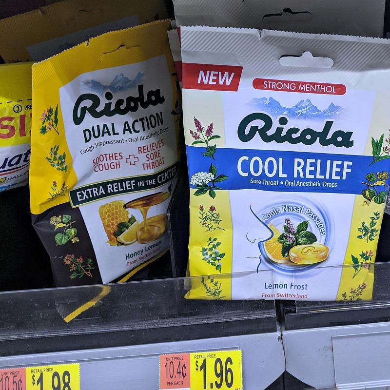ricola on the shelf