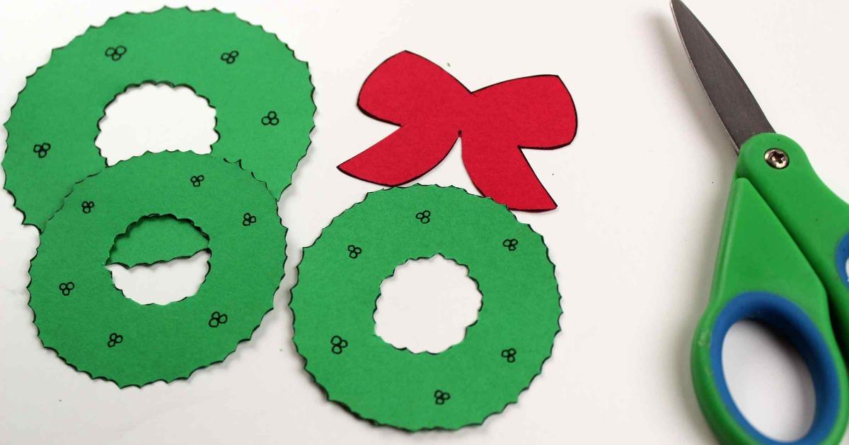 supplies for mickey head wreath craft
