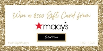 win a gift card from macys