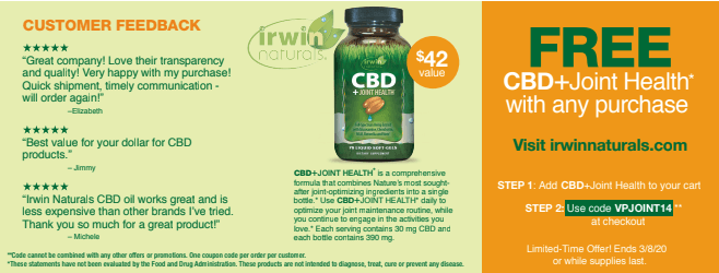 more info about Irwin Naturals product