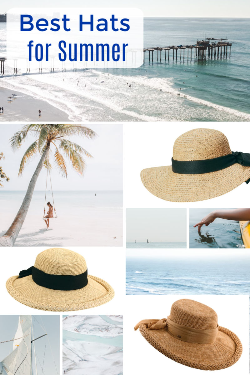 (ad) Are you ready to find the best hats for Summer? I knew I needed a new hat, so I started my search early this year. And, since
