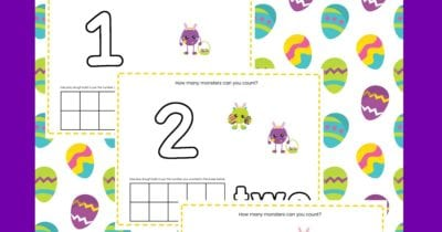 feature easter counting activity