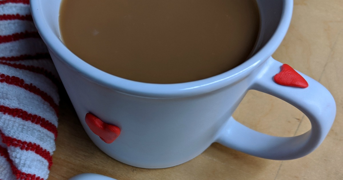 feature heart mug craft
