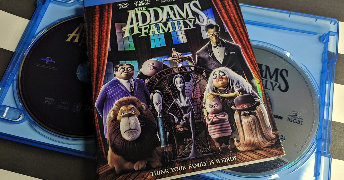 feature the addams family blu-ray combo