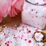Fizzy Bath Salts DIY Valentine's Day Gift