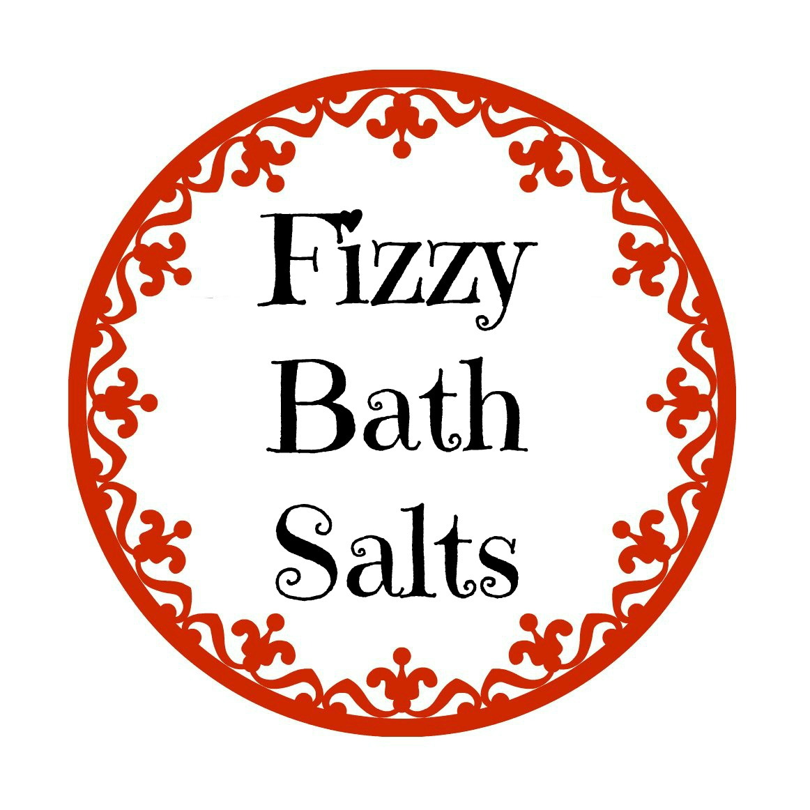 fizzy bath salts label