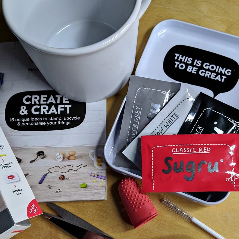supplies for sugru mug craft