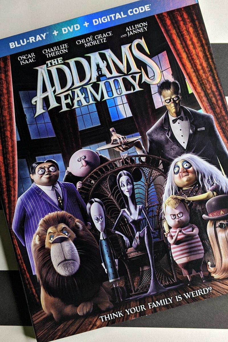 pin addams family movie combo