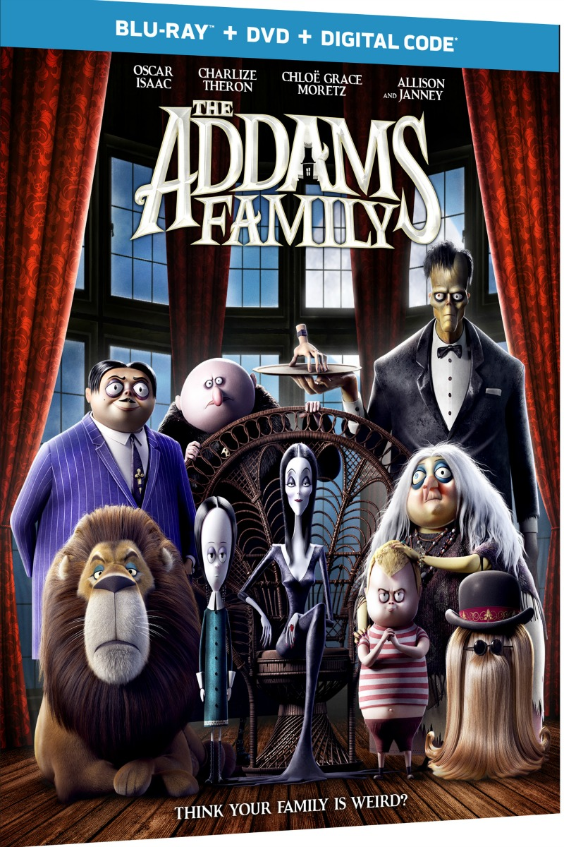 I have been a fan of The Addams Family for decades, so I'm happy that the latest movie has arrived for home viewing.It is available on digital now, and