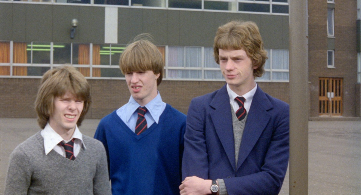 scottish teen boys in school uniforms