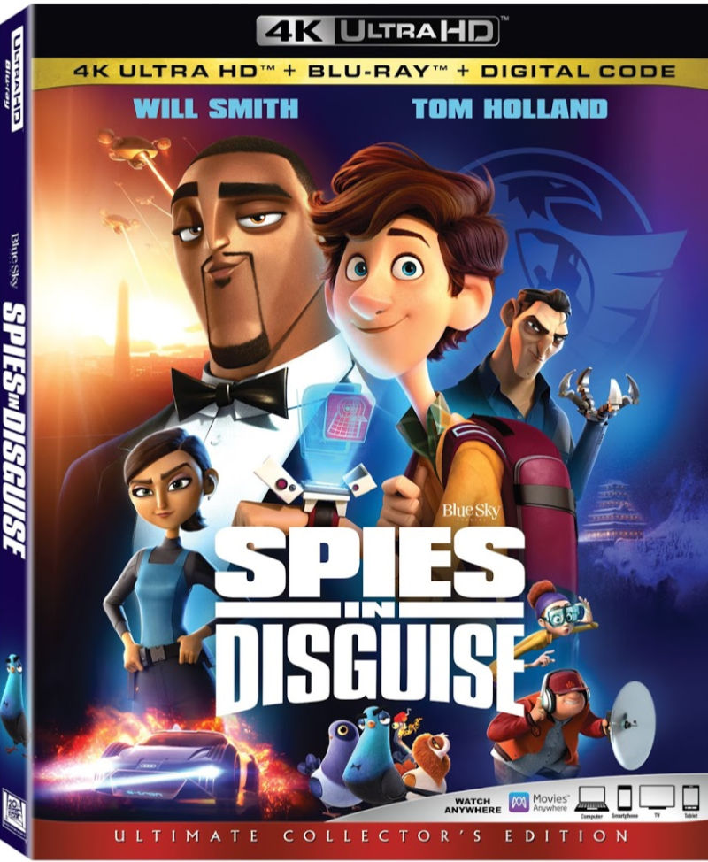 4k spies in disguise