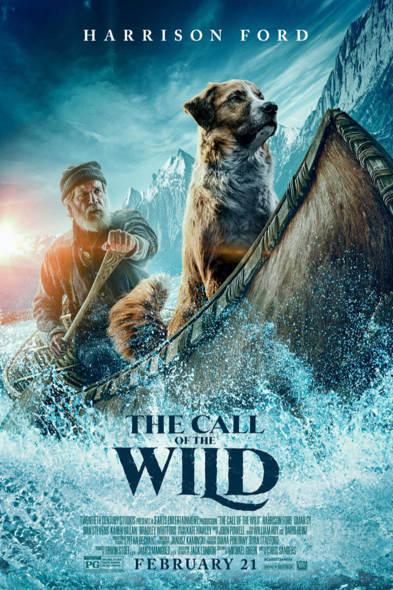 (ad) The Call of The Wild Movie Starring Harrison Ford - I can remember reading Jack London's The Call of The Wild many years ago, when I was in junior high. It is a fantastic book, so I am excited