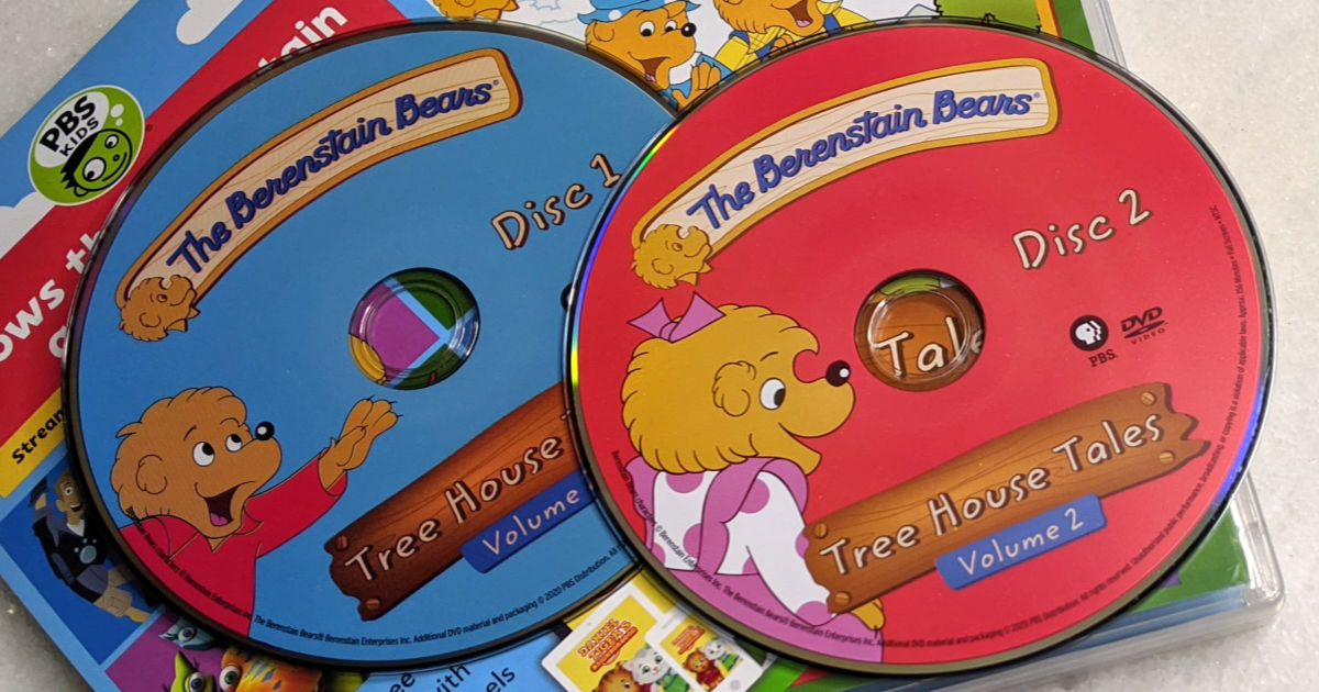 feature berenstain tree house tales dvd set