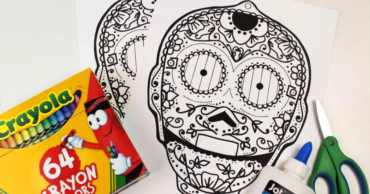 feature c3po sugar skull craft