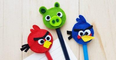 feature felt angry birds craft