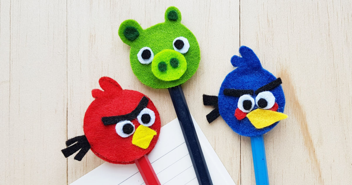 feature felt angry birds craft