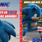 Free Printable Sonic Valentines Day Cards