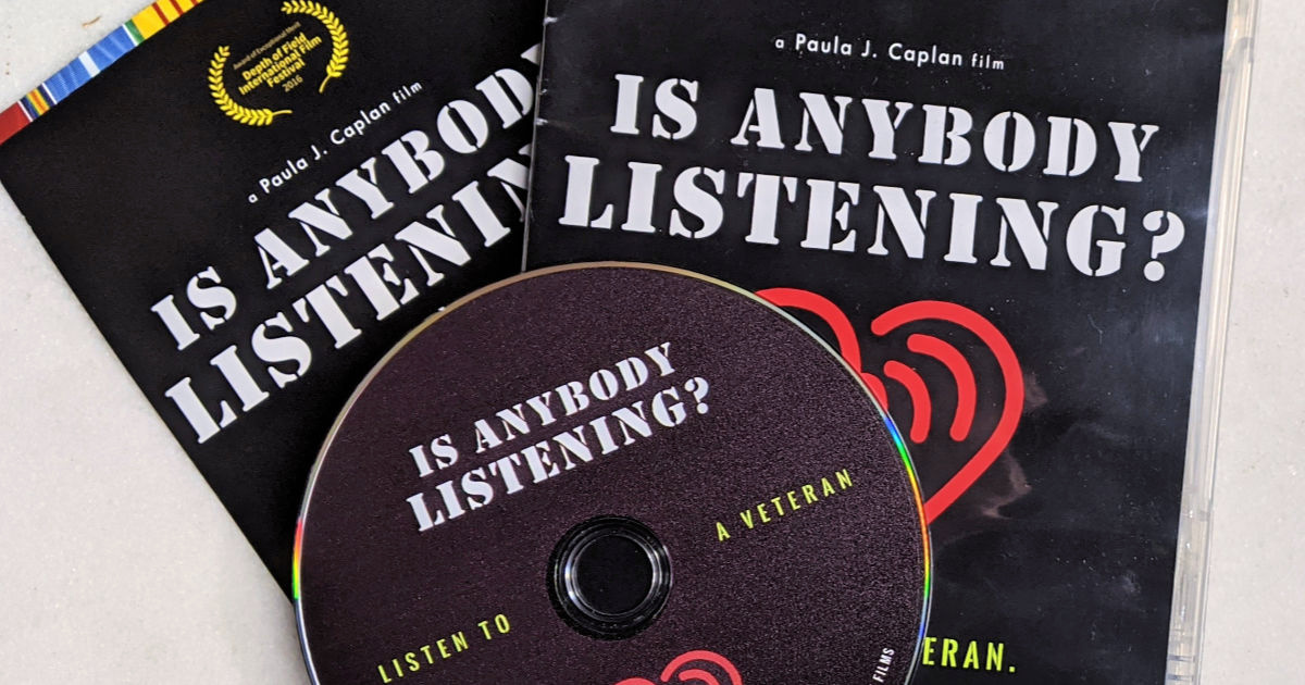 feature is anybody listening dvd