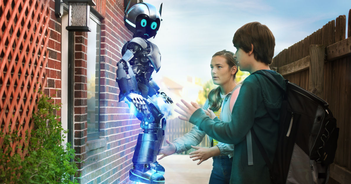 feature my robot friend dvd scene