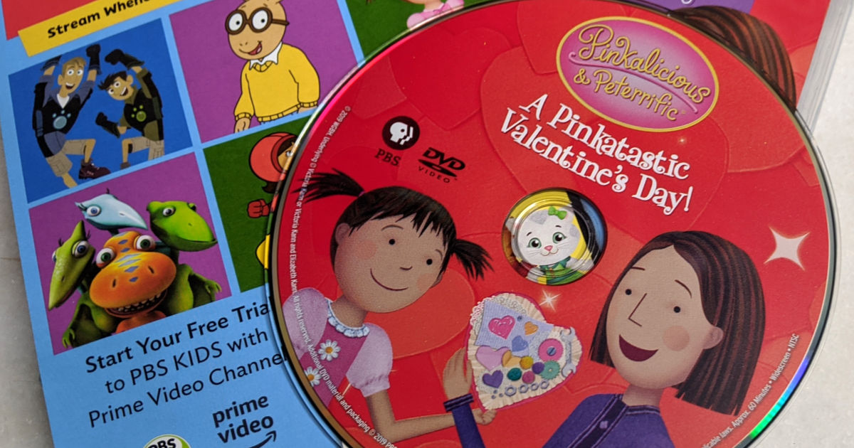 feature pinkalicious vday dvd