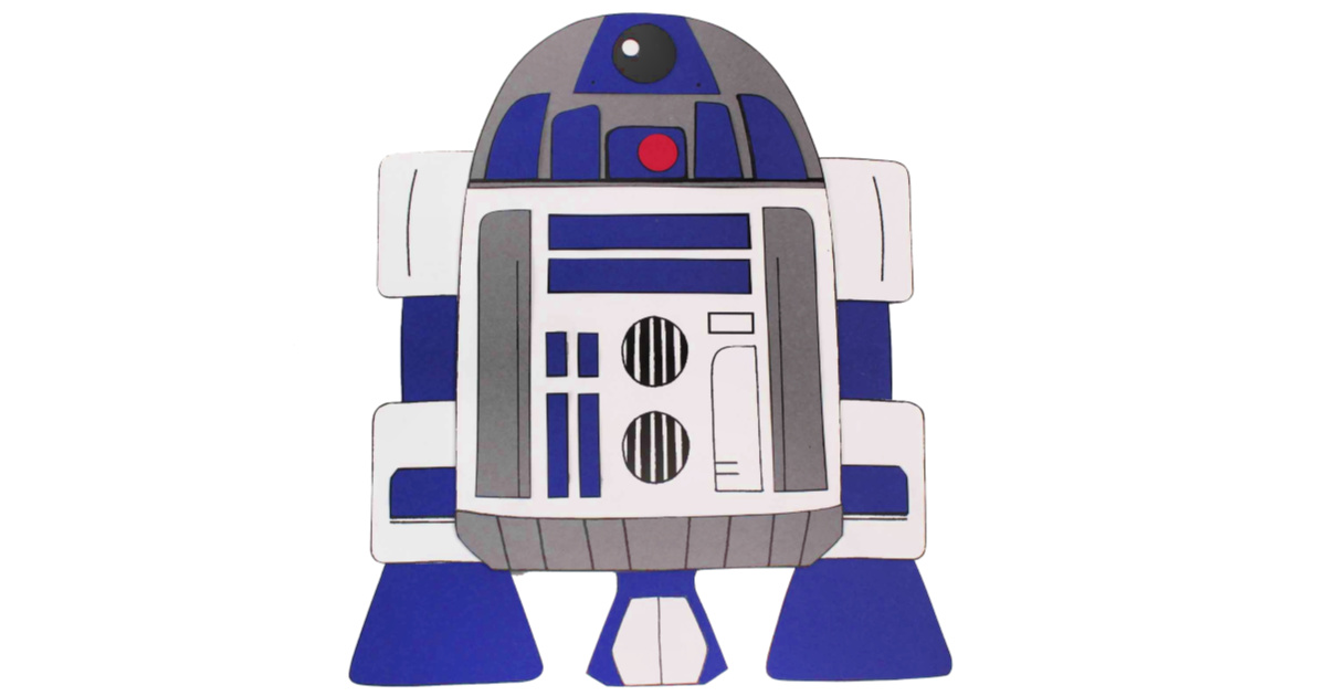 feature printable r2-d2 craft