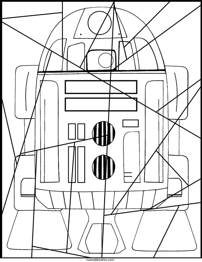 free r2d2 printable picture