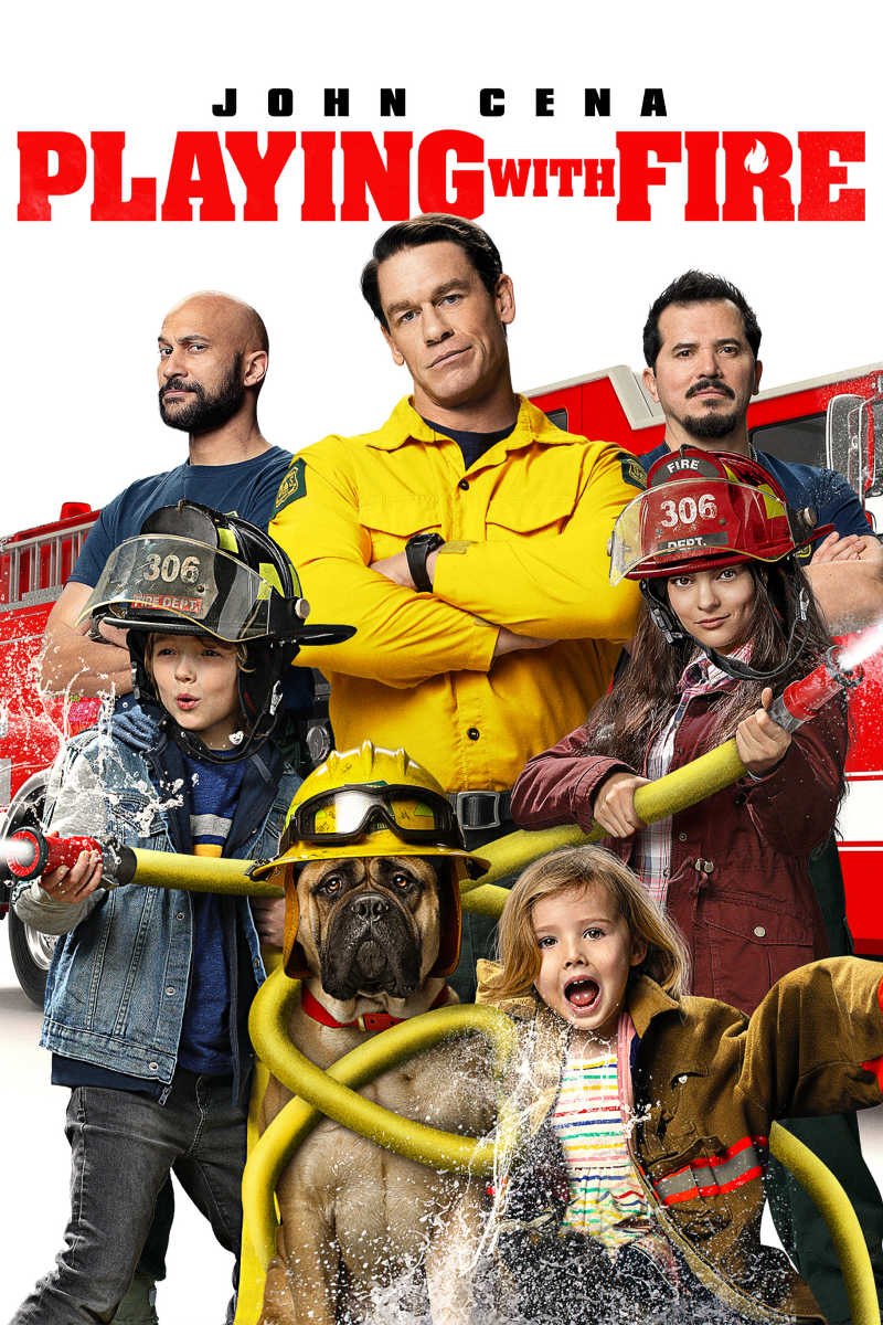 ad: When it is time for family movie night, choose Playing with Fire for a whole lot of laughs and heart warming moments, too. The family friendly firefighter