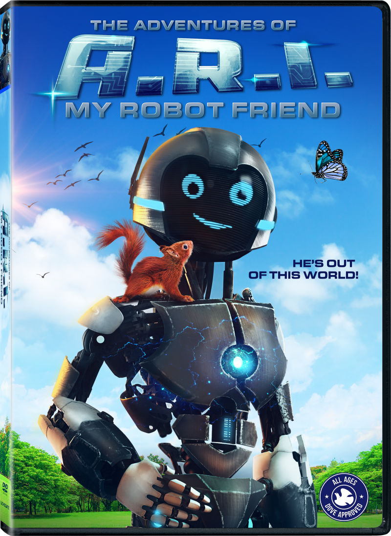 The Adventures of A.R.I. My Robot Friend DVD