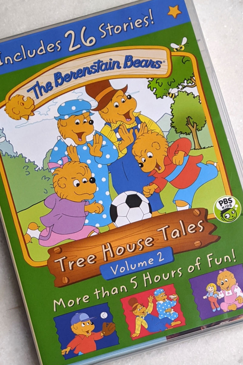 The Berenstain Bears Tree House Tales DVD Set