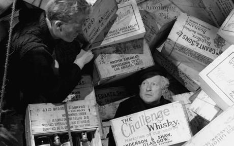 scene from whisky galore movie