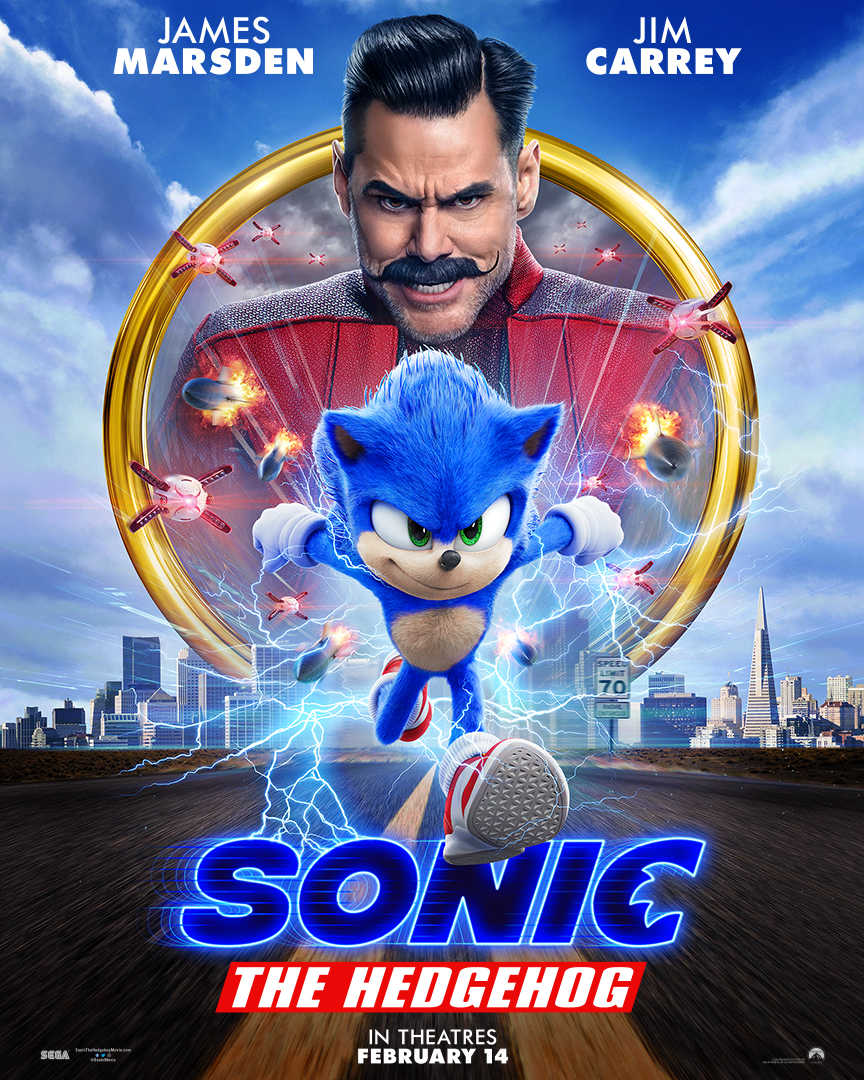 sonic movie poster